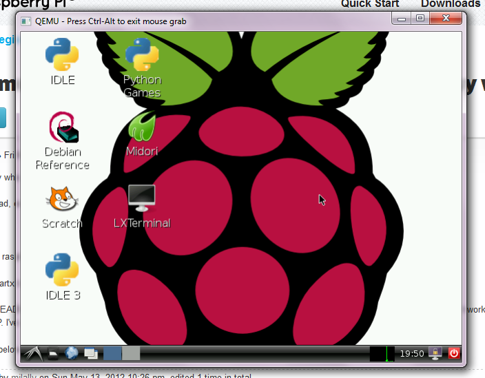 Emulate the Raspberry Pi in Windows for free